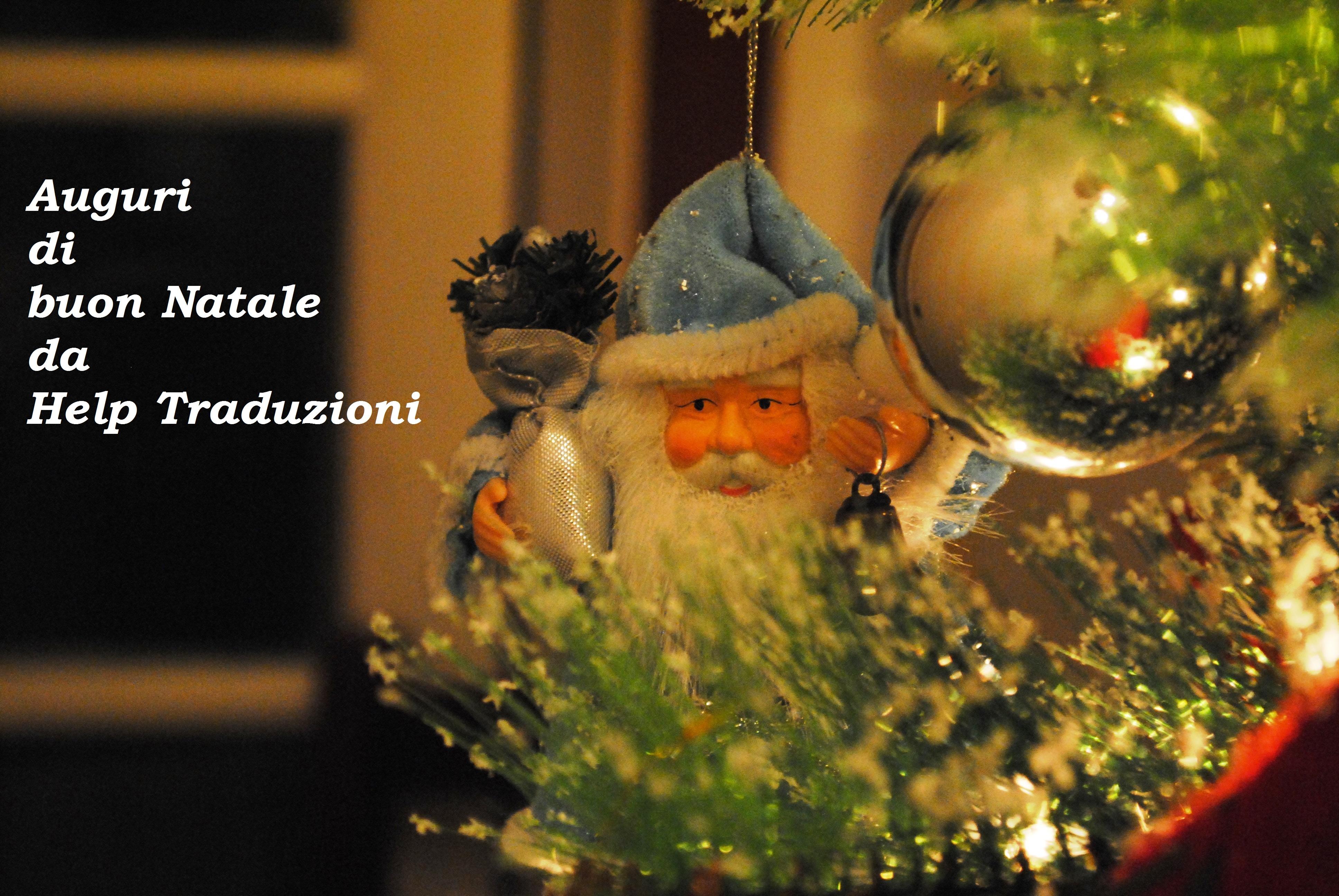 Auguri di buon Natale da Help Traduzioni