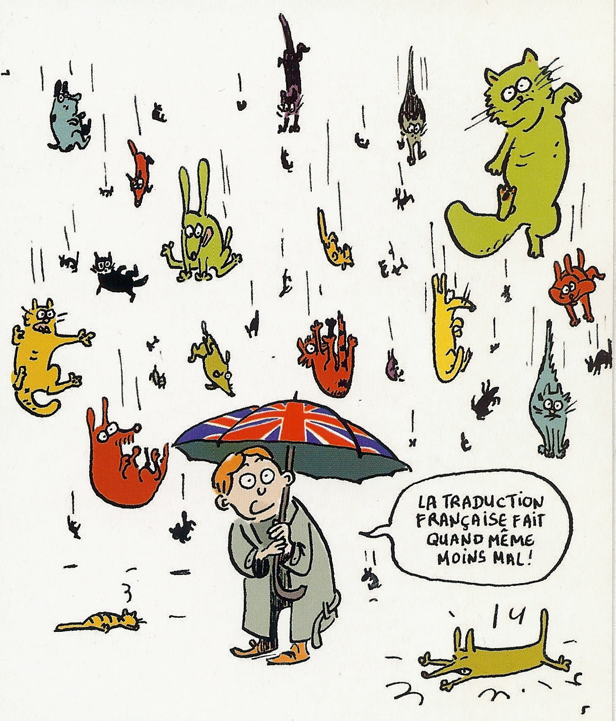 its-raining-cats-and-dogs - help Traduzioni