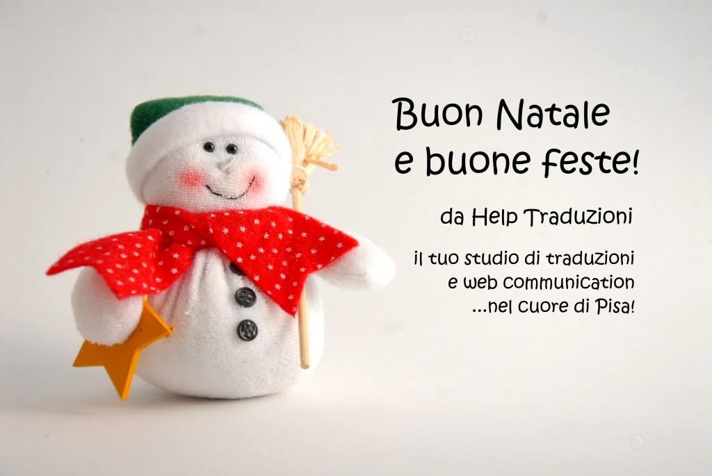 Buon Natale da Help Traduzioni - Studio di traduzioni e comunicazione web a Pisa