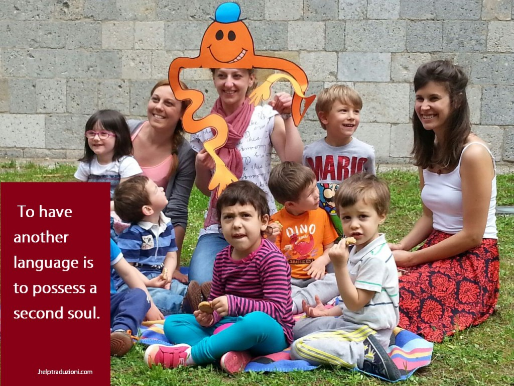 Laboratorio di inglese per bambini a Pisa - Help Traduzioni