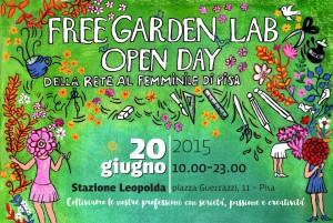 rete al femminile di Pisa open day Stazione leopolda