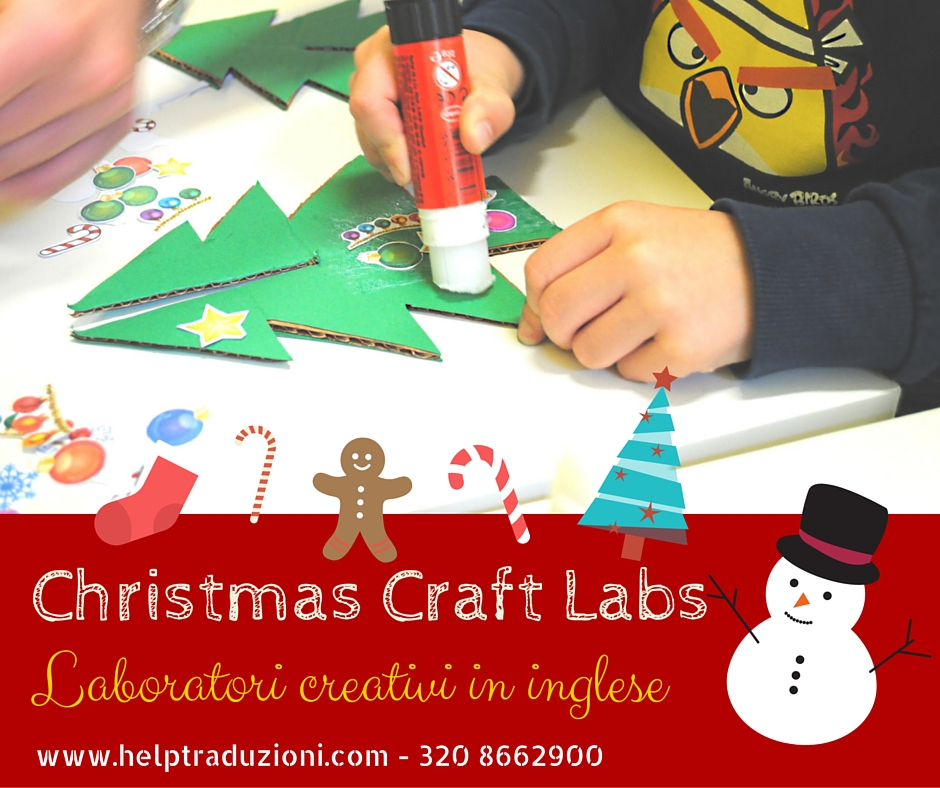 spesso Da fare a Pisa: laboratori creativi in inglese per Natale PD61