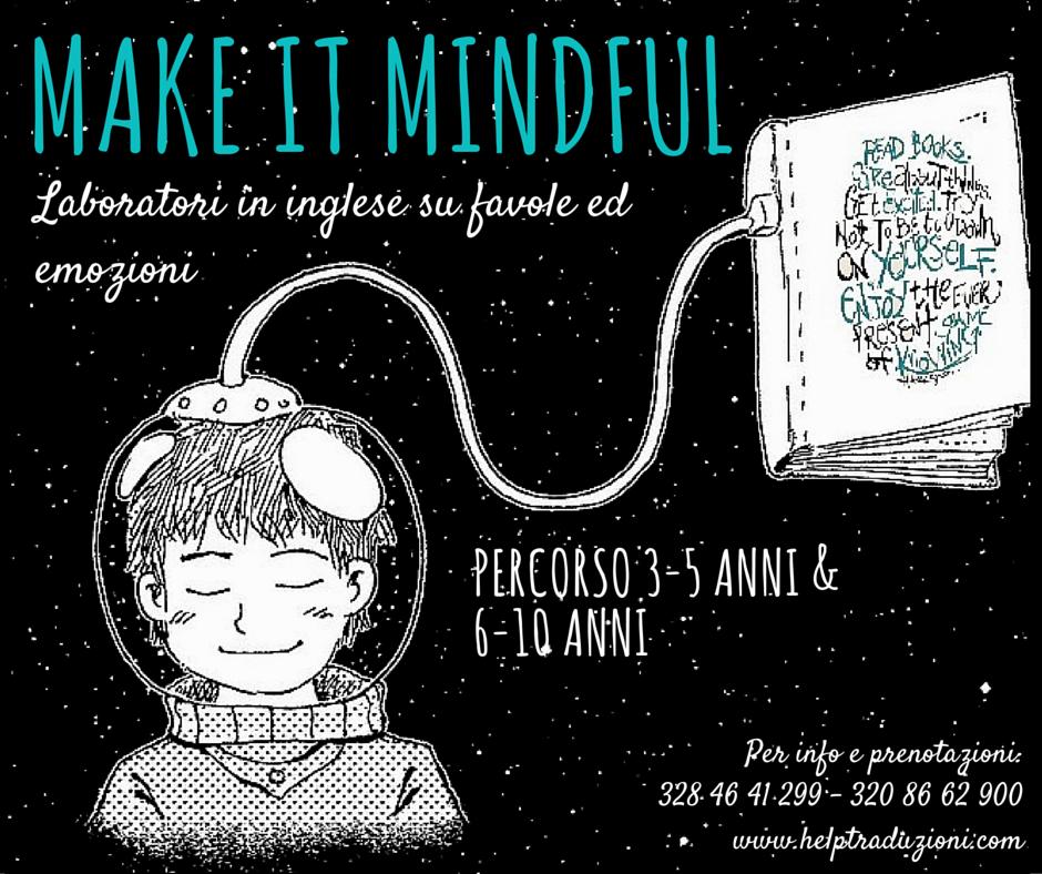 Make It Mindful: laboratori in inglese su favole ed emozioni