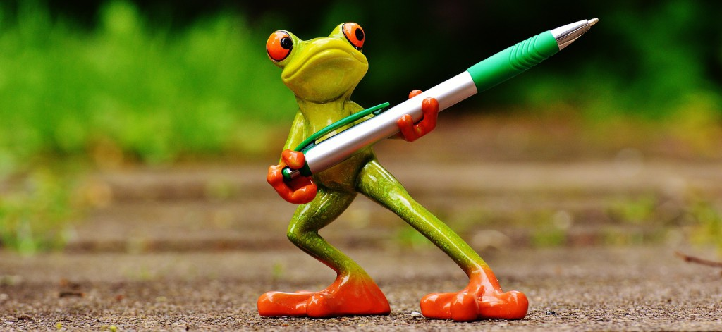 scrittura efficace per lavoro - frog